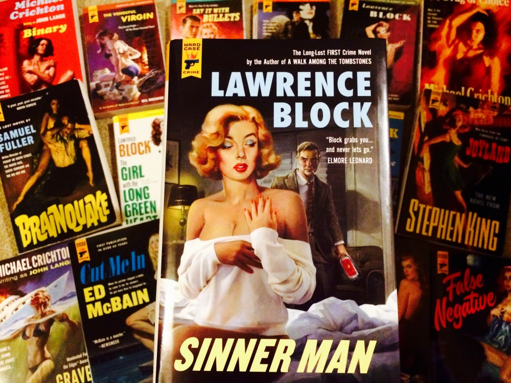 Sinner Man by Lawrence Block - Hard Case Crime novels pulp noir fiction collection