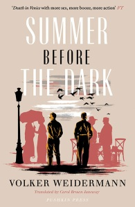 Summer Before The Dark - Volker Weidermann - Hits the Fan - Dave Lancaster book review