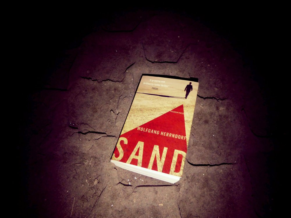 Sand by Wolfgang Herrndorf - Pushkin Press - book cover review 2