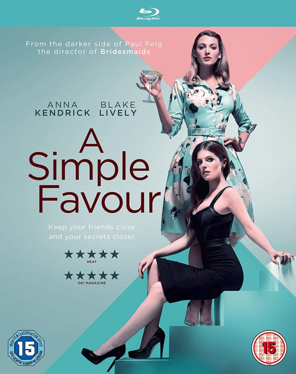 a simple favour blu-ray