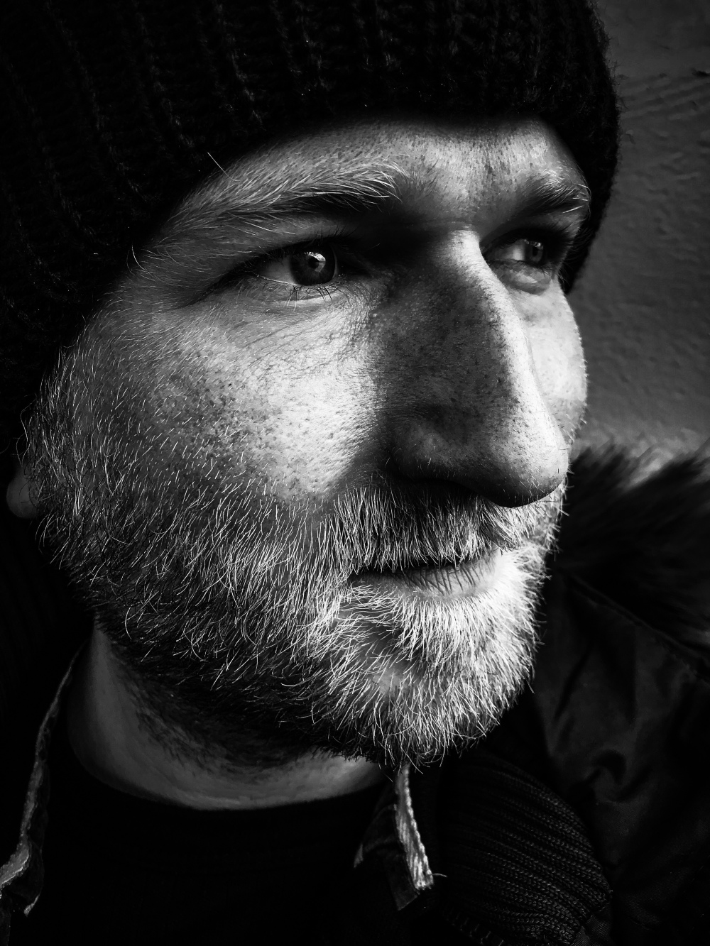 Artist headshot of ambient musician Dave Lancaster to accompany the instrumental album release Drone Alone
